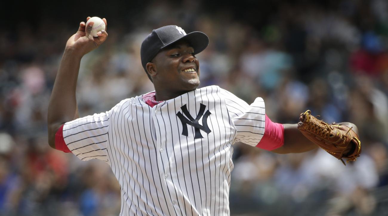 new york yankees michael pineda strikeouts