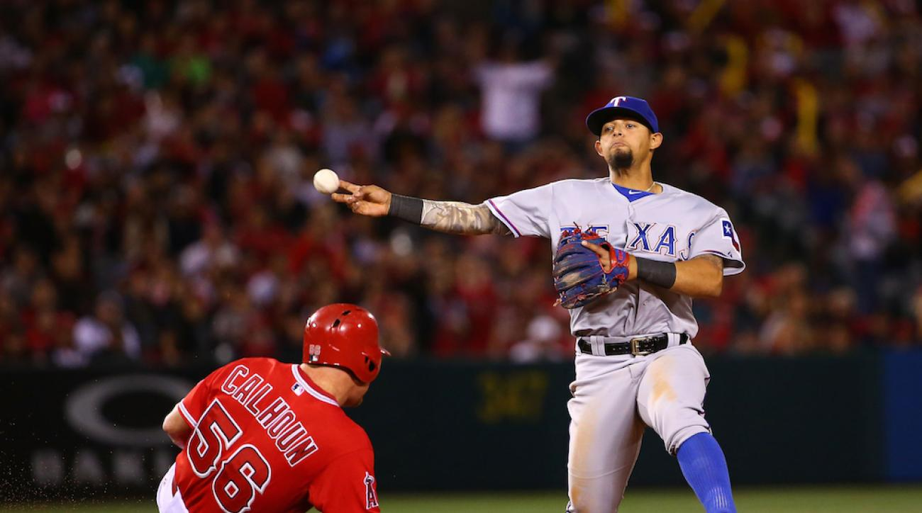 texas rangers send down rougned odor minors
