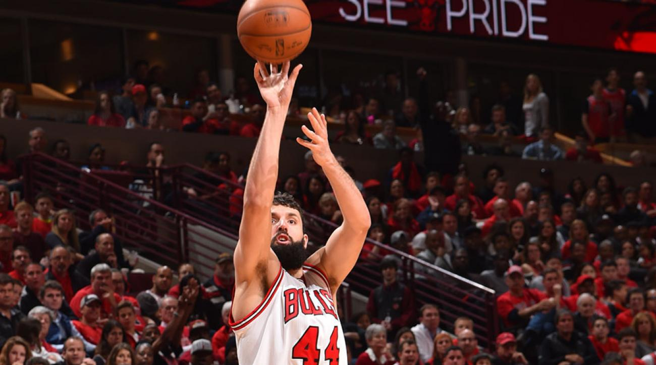 Chicago Bulls Nikola Mirotic halfcourt buzzer beater