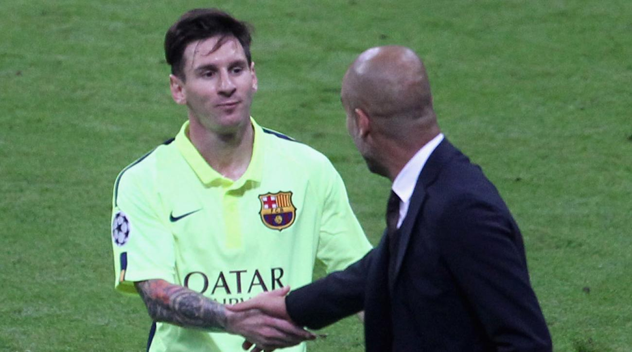 Guardiola says Messi is best soccer player of all-time