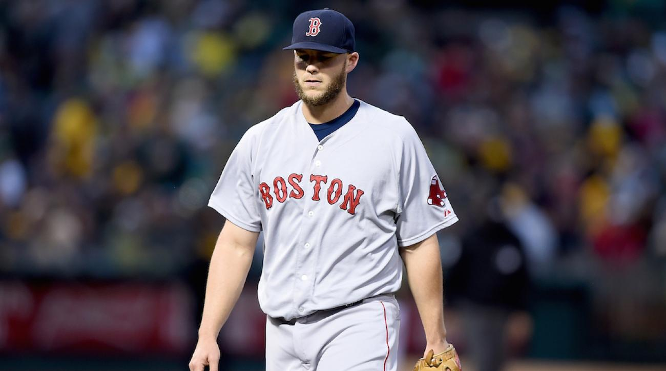boston red sox justin masterson arm fatigue disabled list