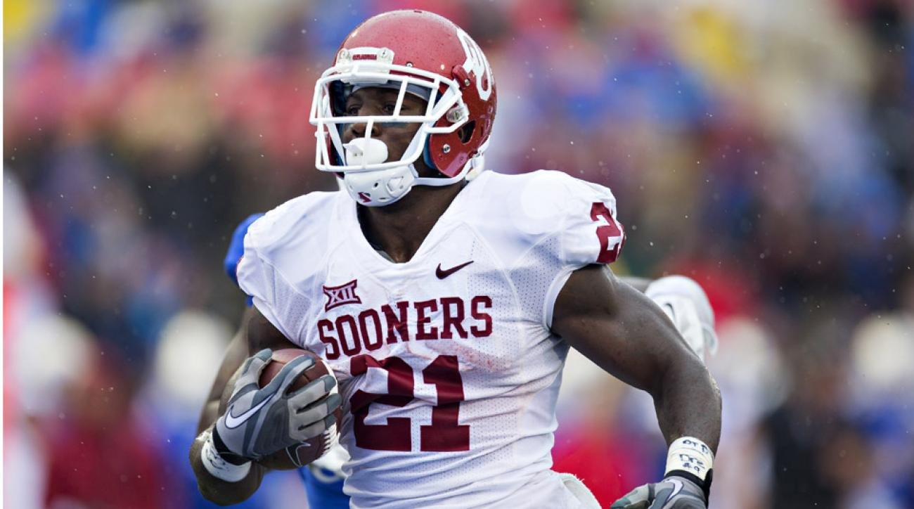 keith ford sooners running back leaves