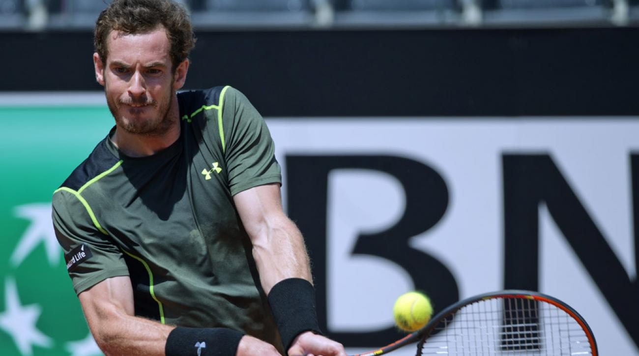 Murray withdraws from Italian Open