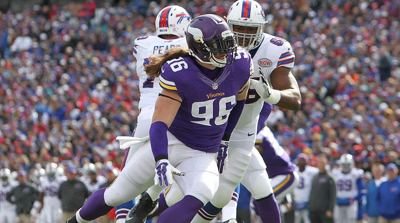 Minnesota Vikings Brian Robison injury