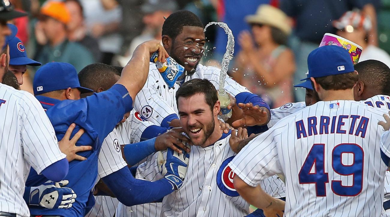 Cubs Pirates walk off Gregory Polanco trips