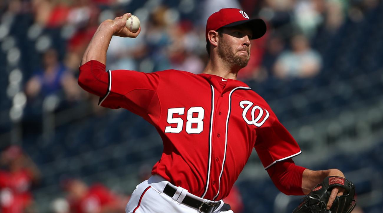 Washington Nationals Doug Fister disabled list