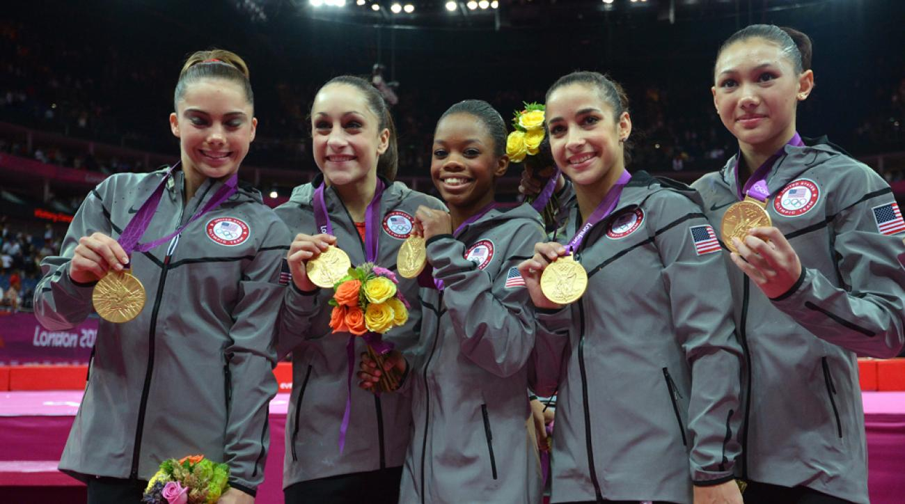 2016 Olympics Rio Gymnastics team event size four members