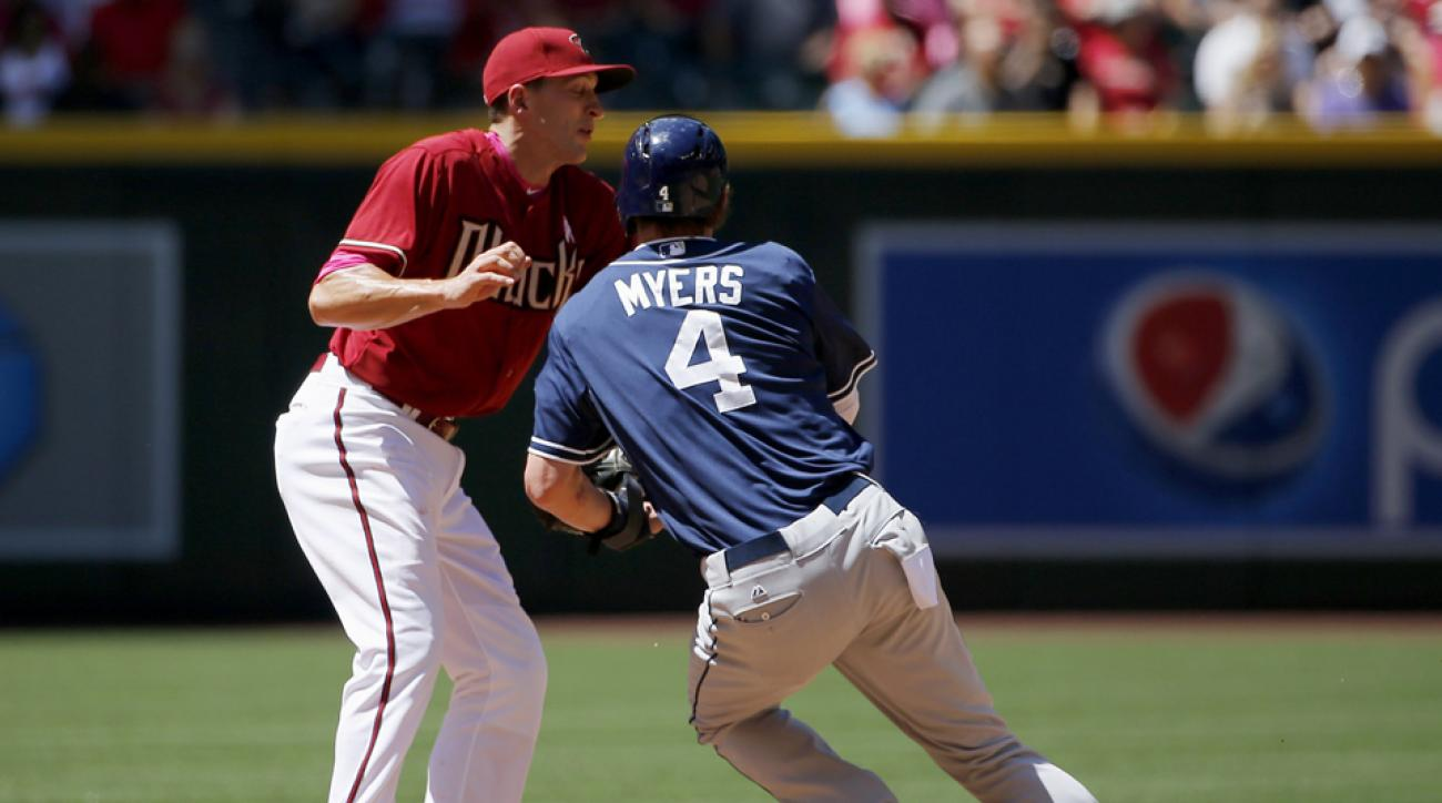 Myers out with tendonitis in his left wrist