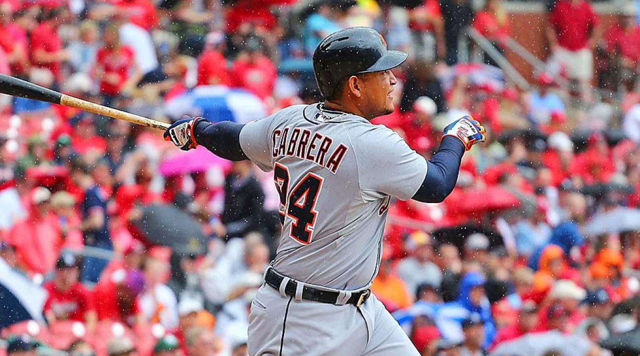 Miguel Cabrera Detroit Tigers 400th career home run
