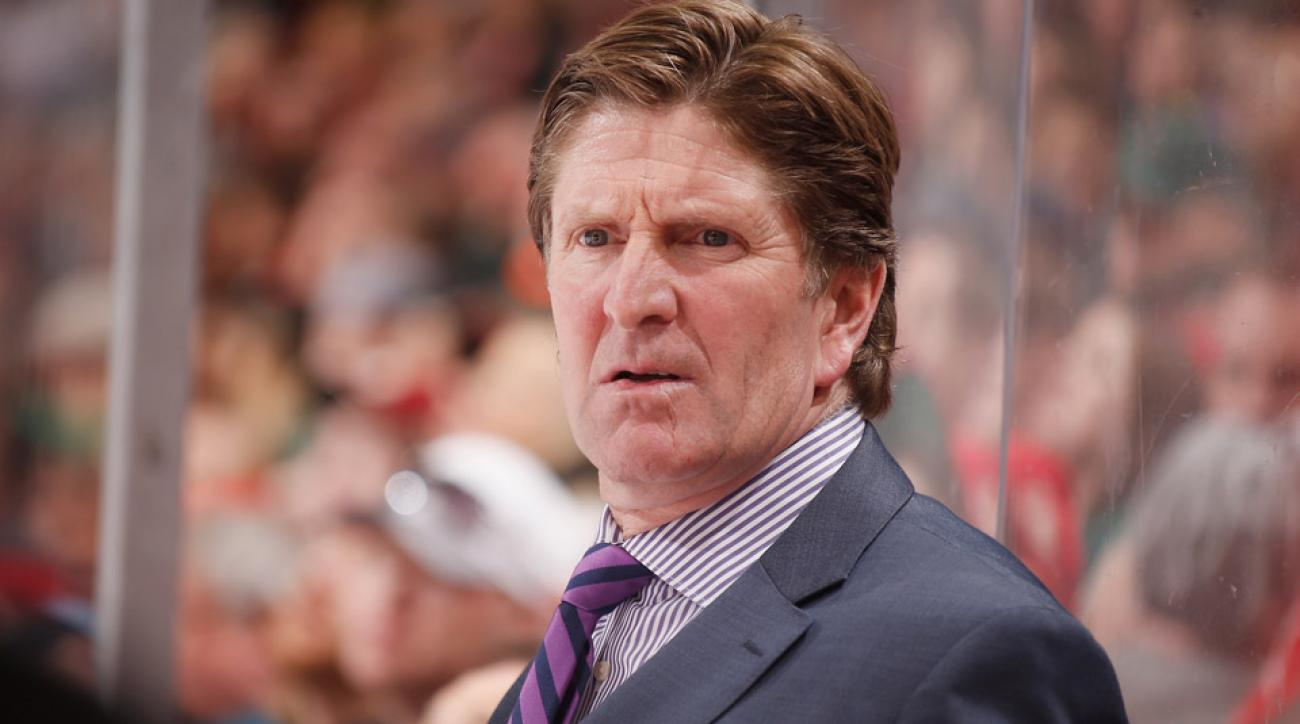 Mike Babcock is officially being pursued by the Maple Leafs and Sabres, though the Red Wings are interested in bringing him back.