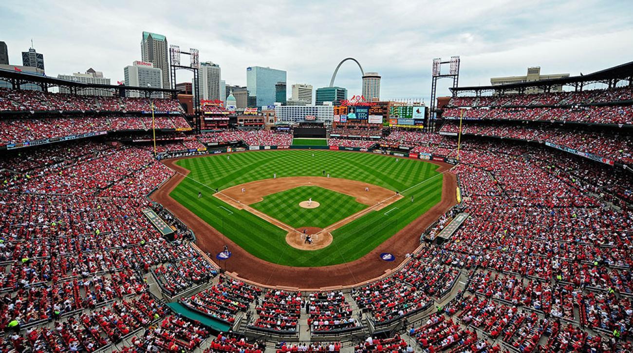 St Louis Cardinals selfie world record