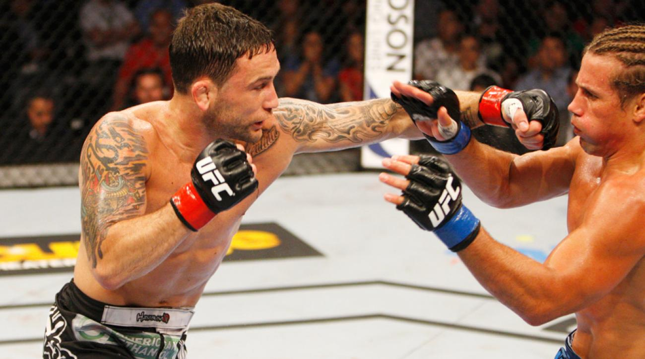 Frankie Edgar dominated Urijah Faber at UFC Fight Night.