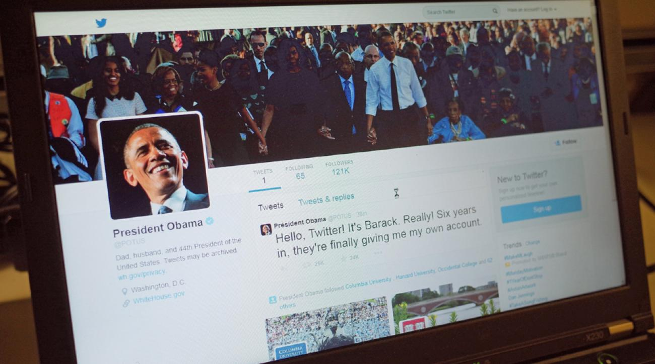 Barack Obama joins Twitter POTUS sports reaction teams