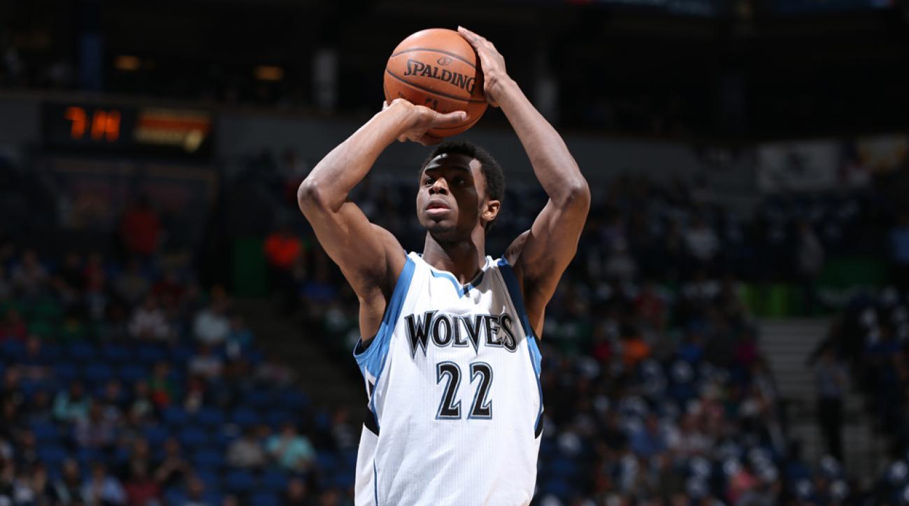 NBA All Rookie team Andrew Wiggins Nerlens Noel
