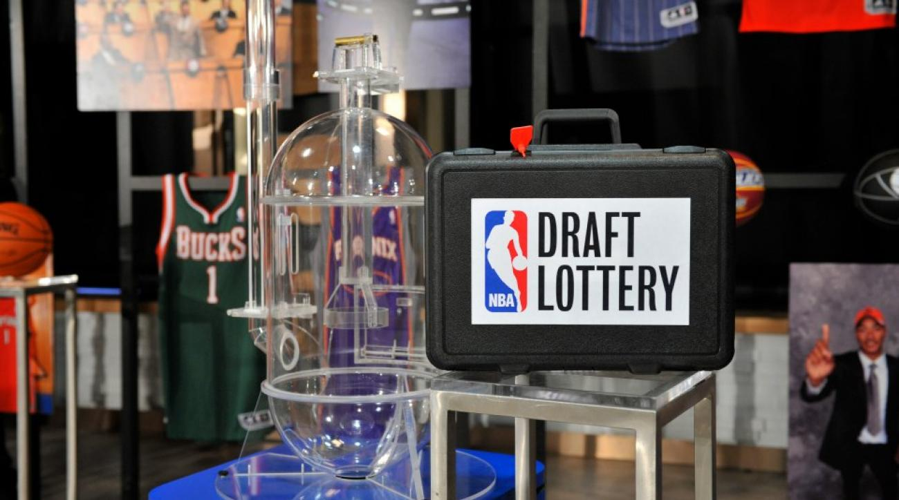 2015 NBA draft lottery infographic