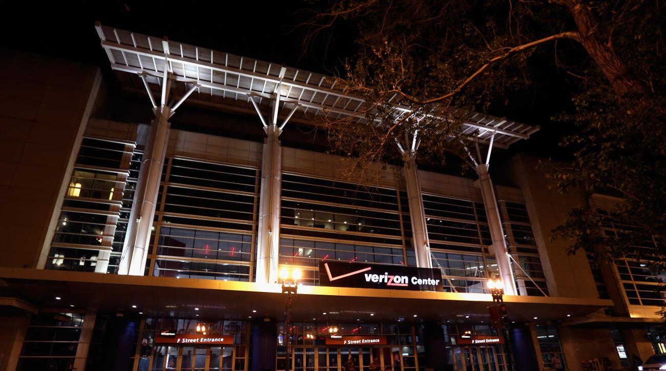washington wizards capitals verizon center naming rights