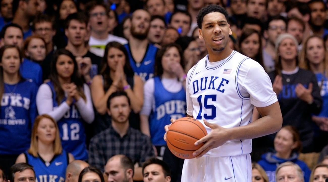 Jahlil Okafor has enormous hands that can hold 13 tennis balls
