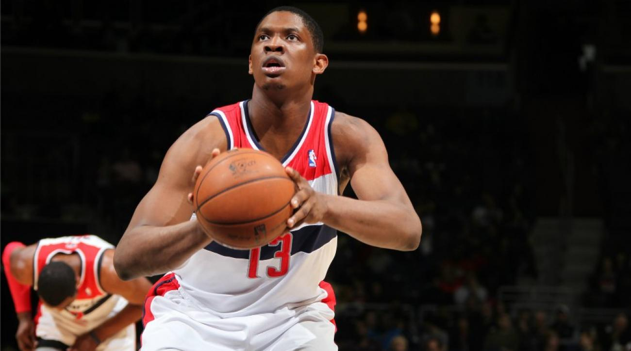 Kevin Seraphin bought a selfie stick