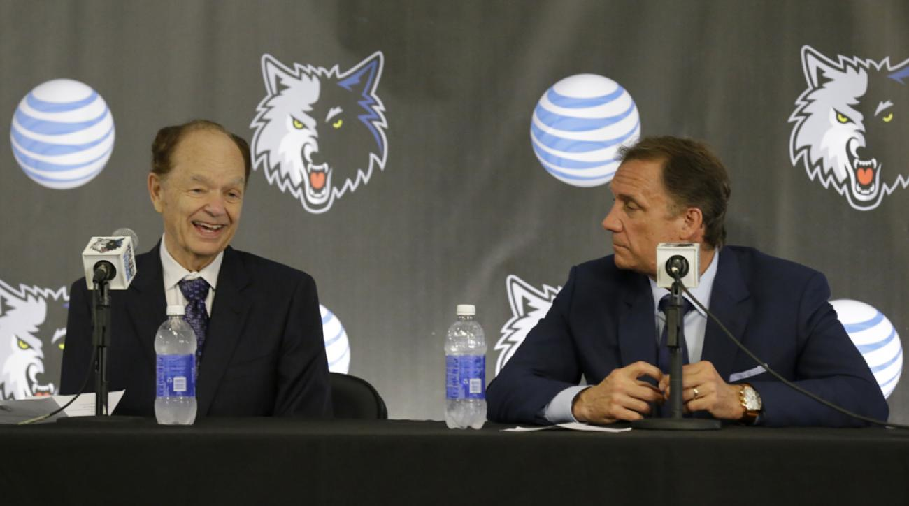T-Wolves owner non-committal on coach