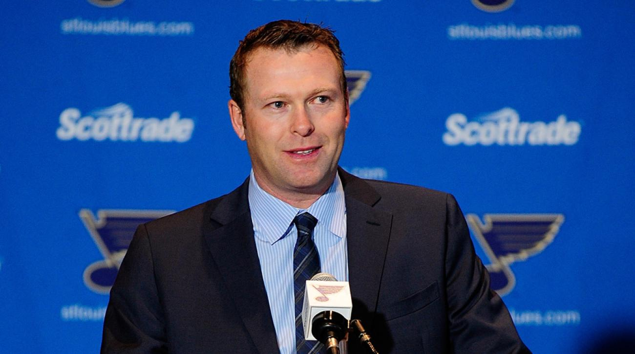 St Louis Blues Martin Brodeur assistant general manager