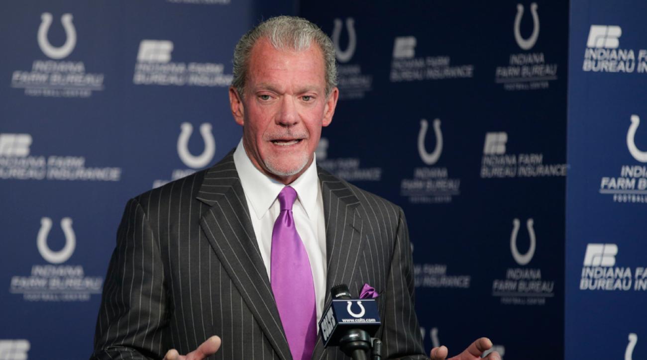 NFL team Los Angeles Colts owner Jim Irsay