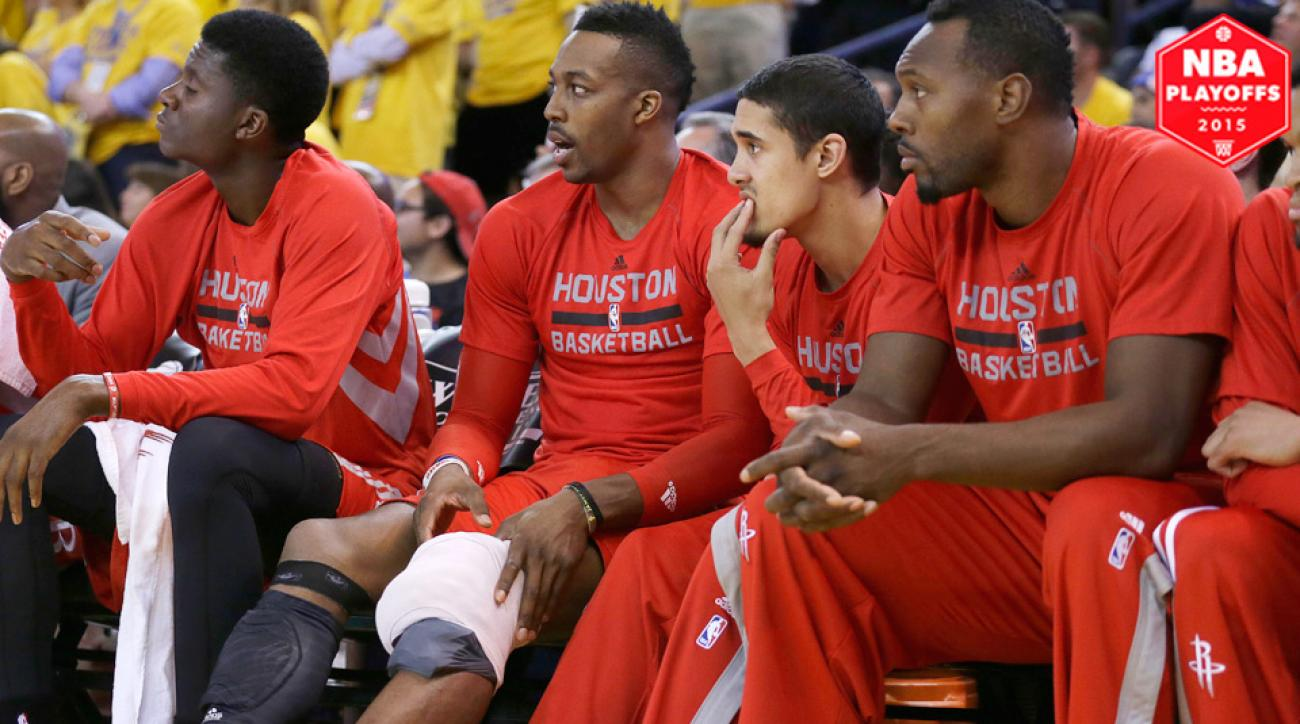 Extent of Dwight Howard's knee injury could decide winner of Western Conference finals.