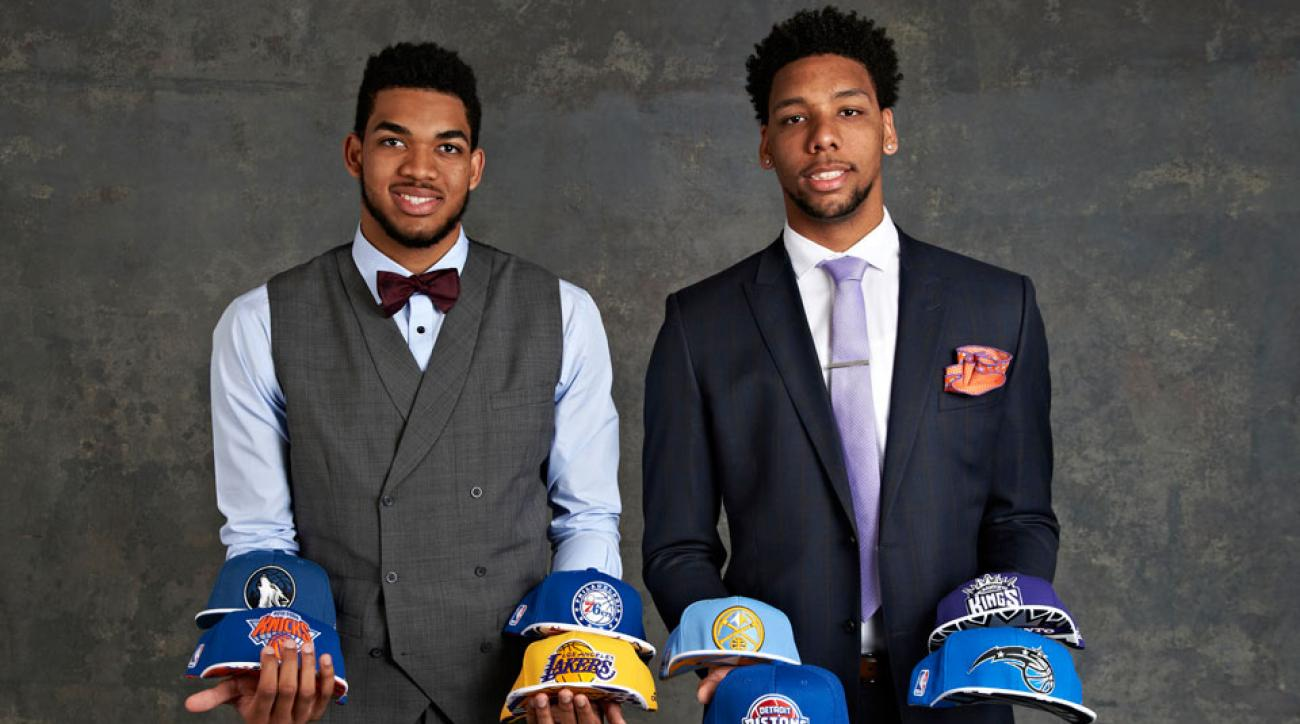Karl-Anthony Towns; Jahlil Okafor