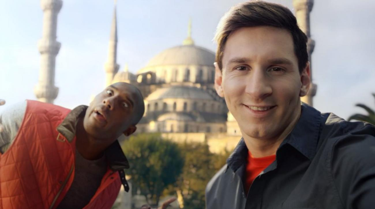Kobe Bryant, Lionel Messi star in one of YouTubes best ads