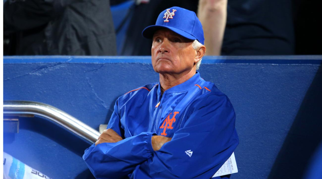 Mets manager Terry Collins not worried about job