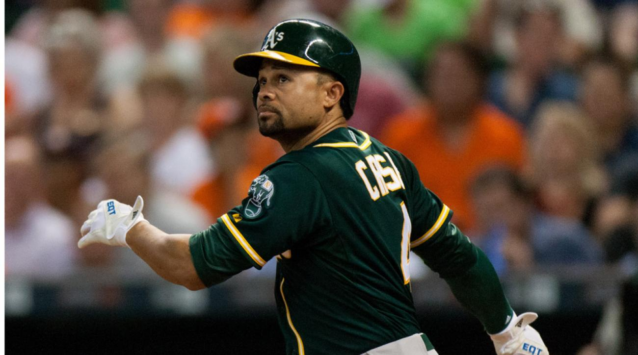 Coco Crisp to see neck specialist