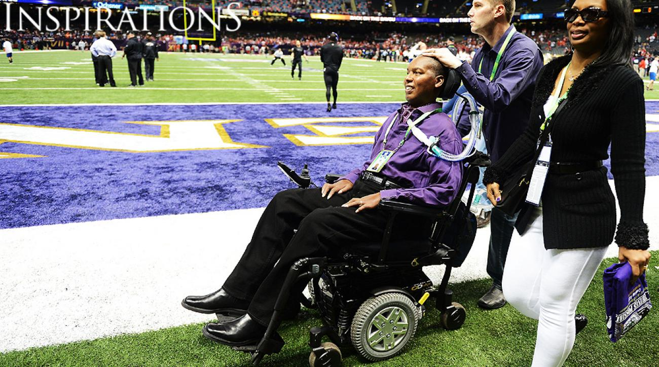 Former Ravens linebacker O.J. Brigance uses ALS diagnosis for good cause