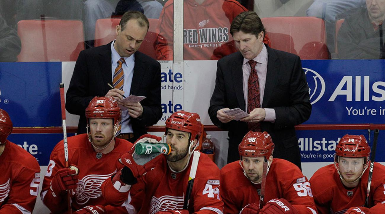 Detroit Red Wings Mike Babcock Jeff Blashill