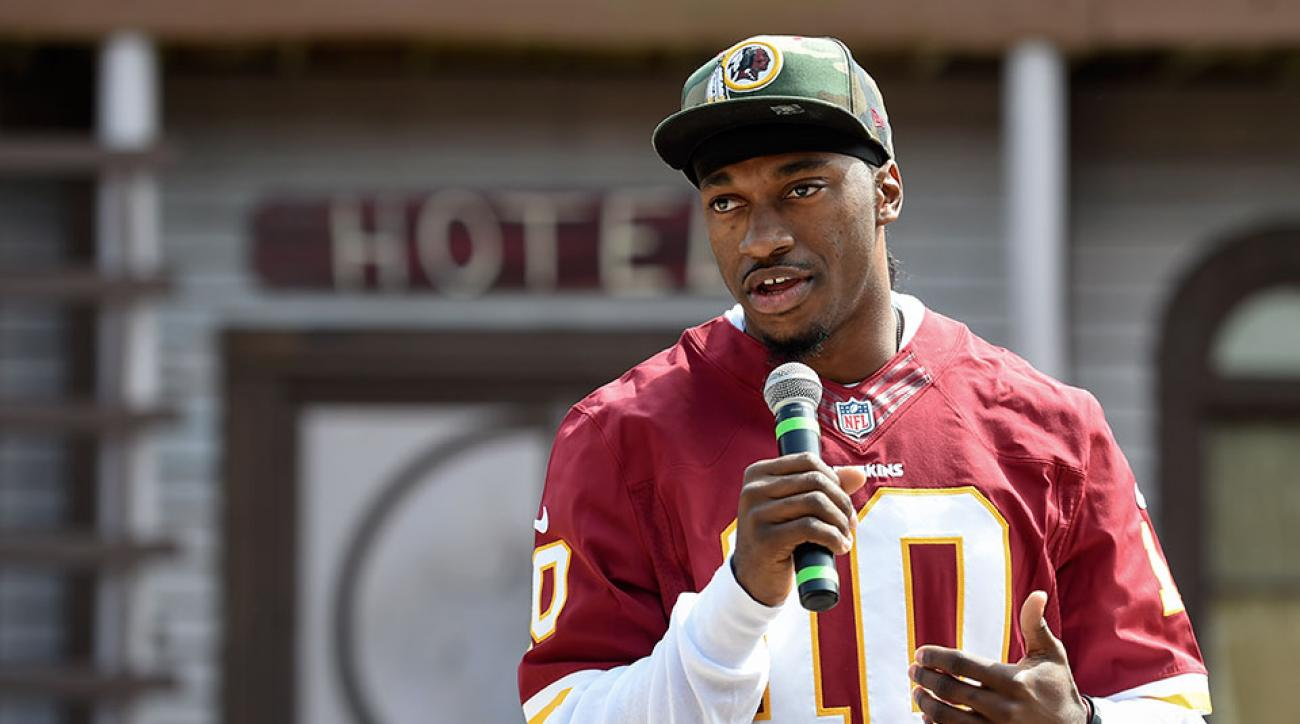 Robert Griffin III Redskins daughter first child birth wife