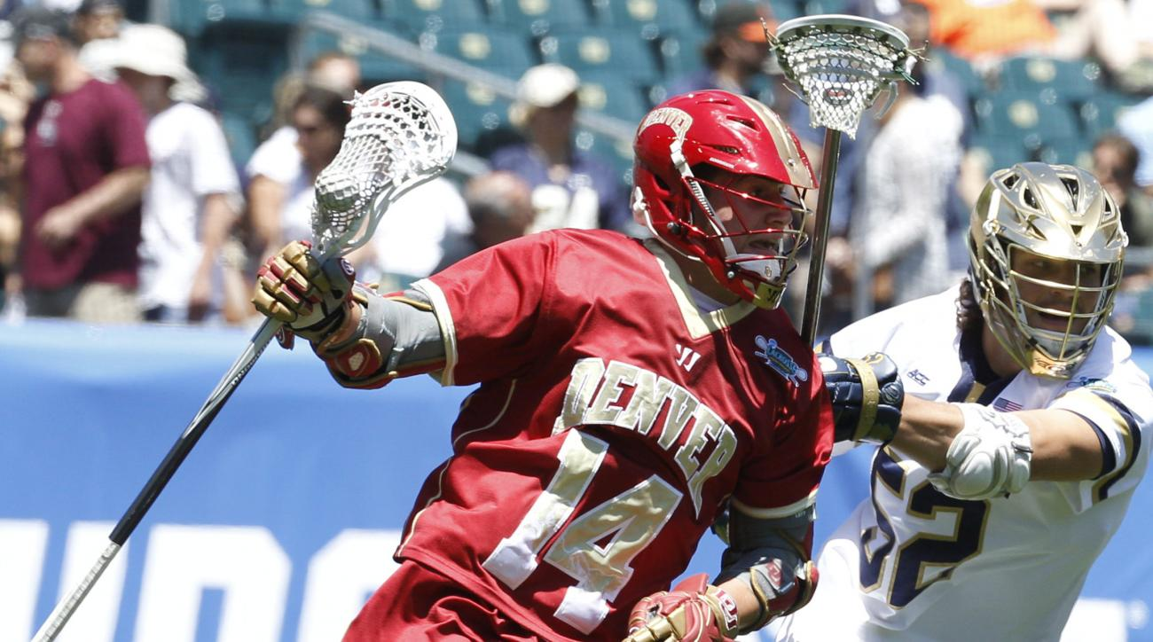 denver lacrosse wesley berg diving goal video
