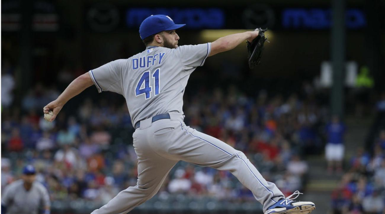 Royals' Danny Duffy placed on 15-day DL