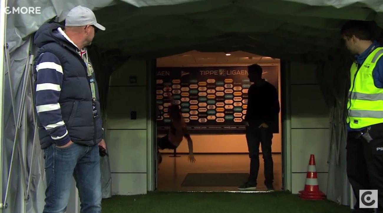 norwegian soccer tippeligaen espen hoff fall video