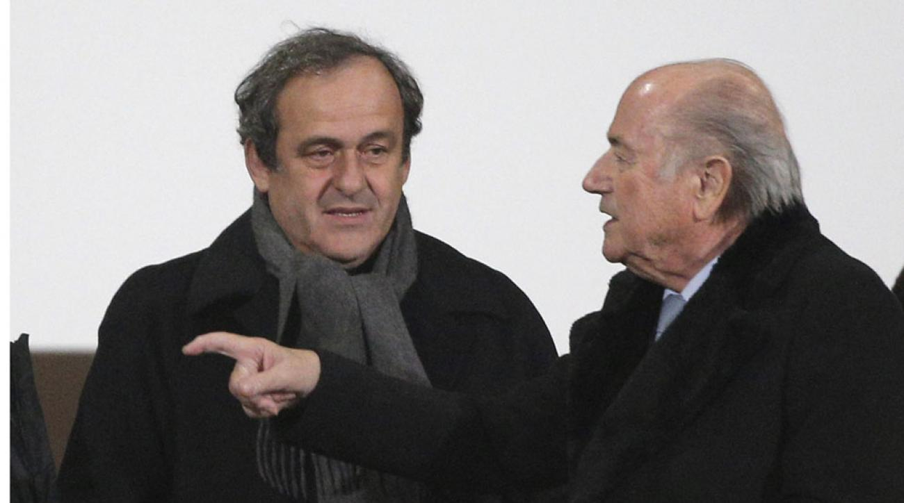Platini: FIFA lacks credibility if Blatter re-elected