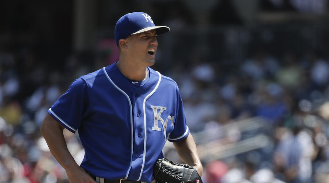 jeremy guthrie kansas city royals new york yankees