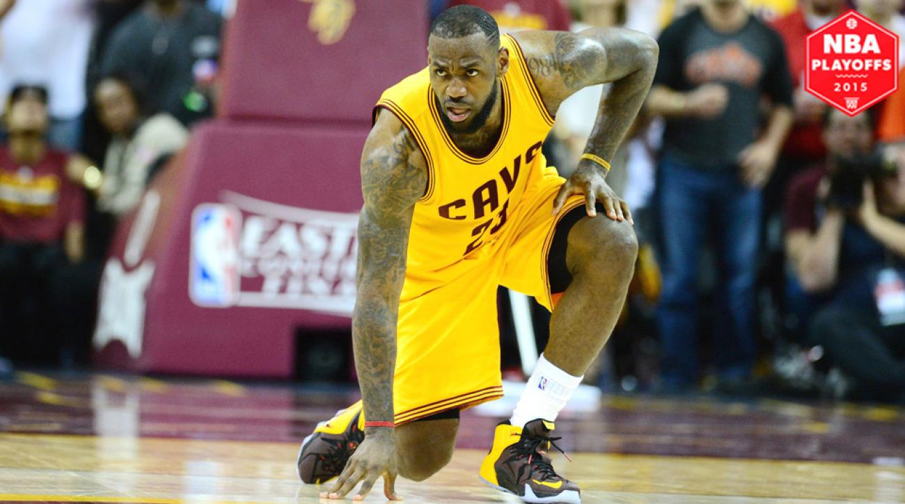 LeBron James had 37 points, 18 rebounds, and 13 assists in Cavaliers' Game 3 win over Hawks.