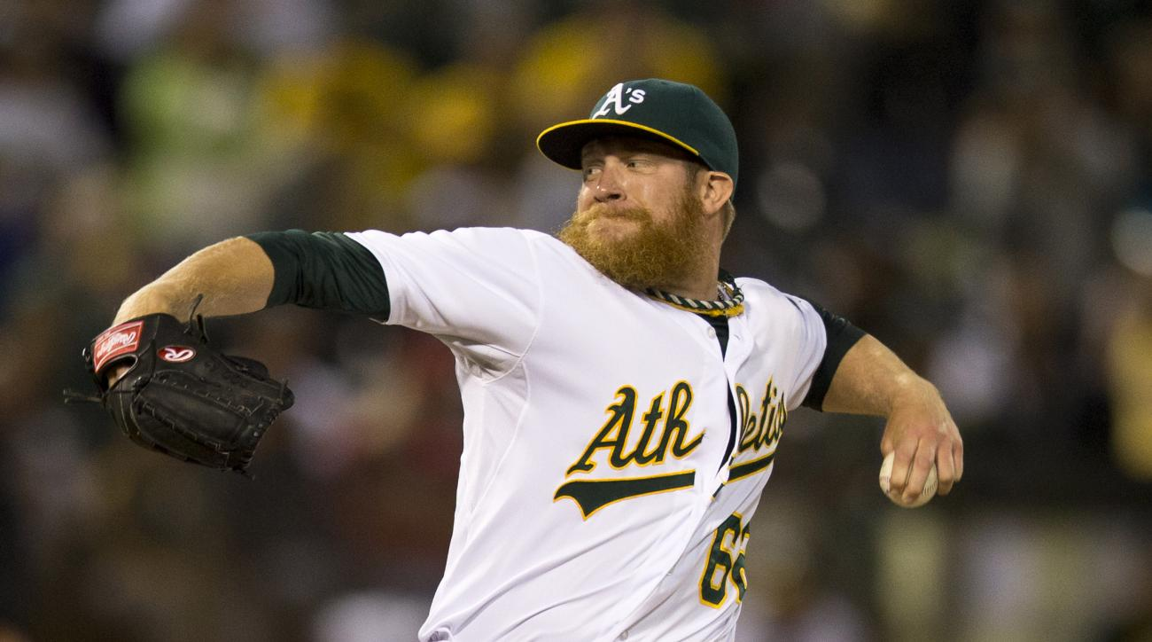 oakland athletics sean doolittle injury dl activated