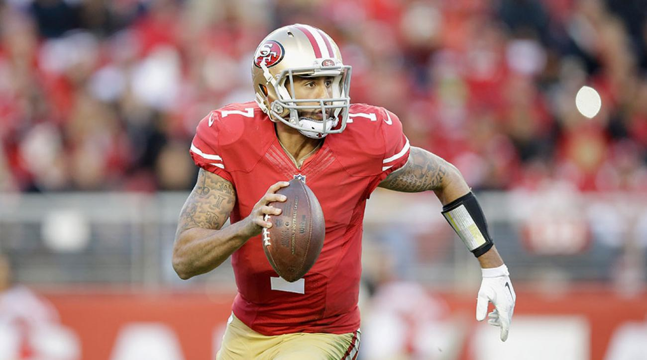 Colin Kaepernick 49ers apology Houston storms
