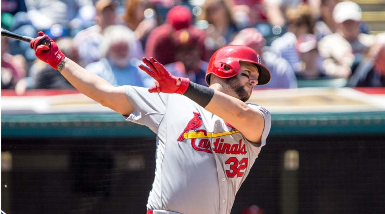 Matt Adams likely headed to DL with quad strain