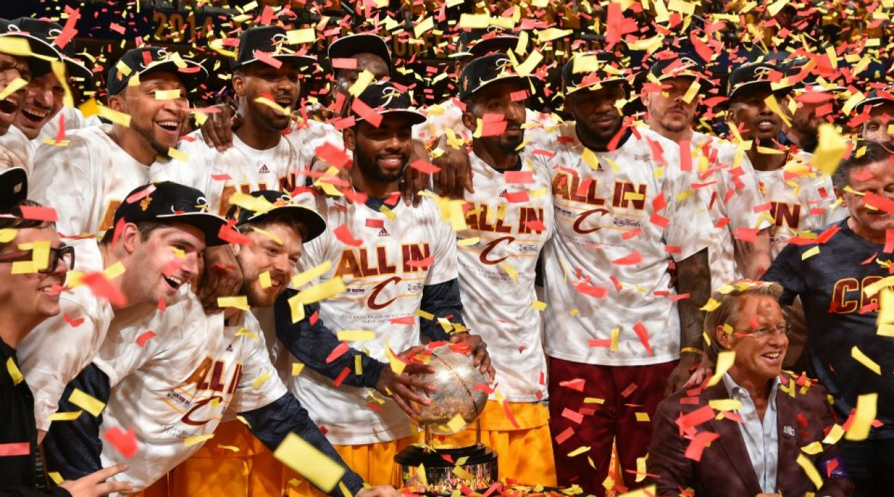 Cleveland Cavaliers' hot tub playoff celebration