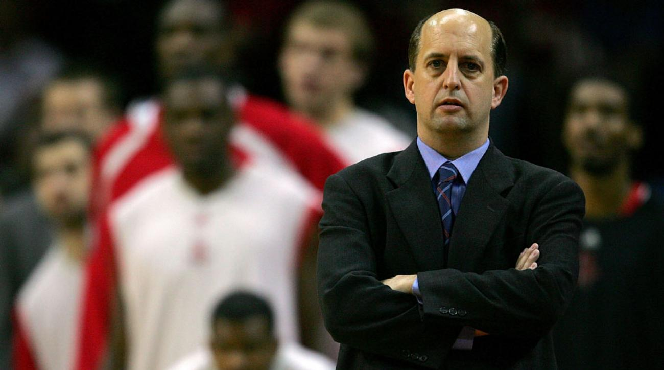 Jeff Van Gundy last coached with the Houston Rockets in 2007.