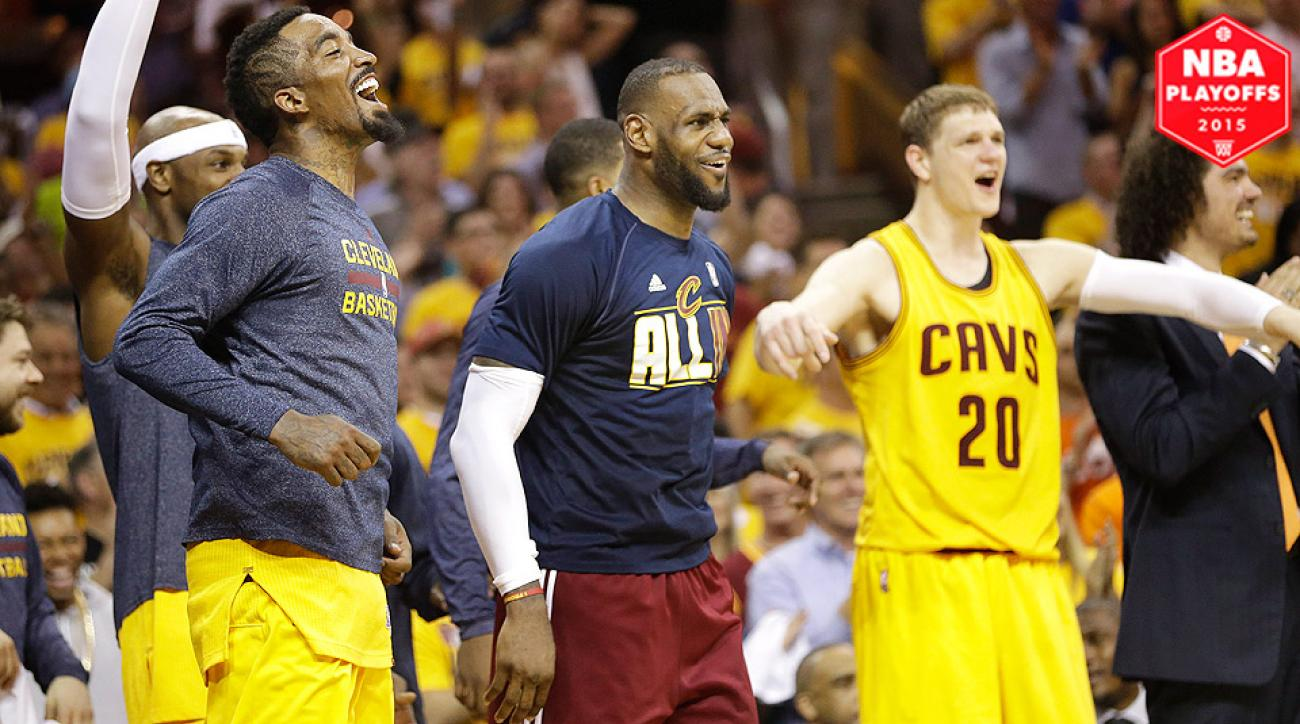 LeBron James, Cavaliers advanced to NBA Finals after sweeping Hawks.