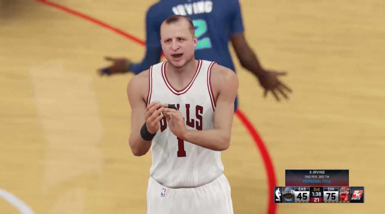 NBA coaches take on players in NBA2k