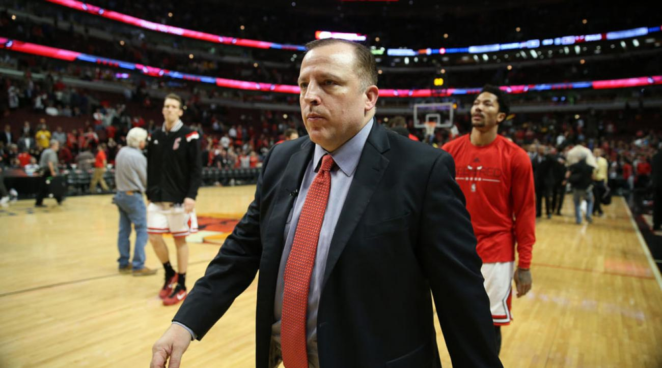 Chicago Bulls are reportedly considering firing Tom Thibodeau.