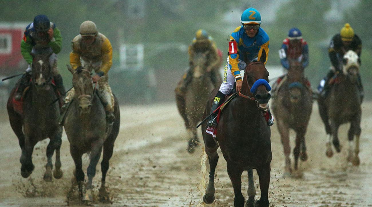 Belmont Stakes odds American Pharoah favorite