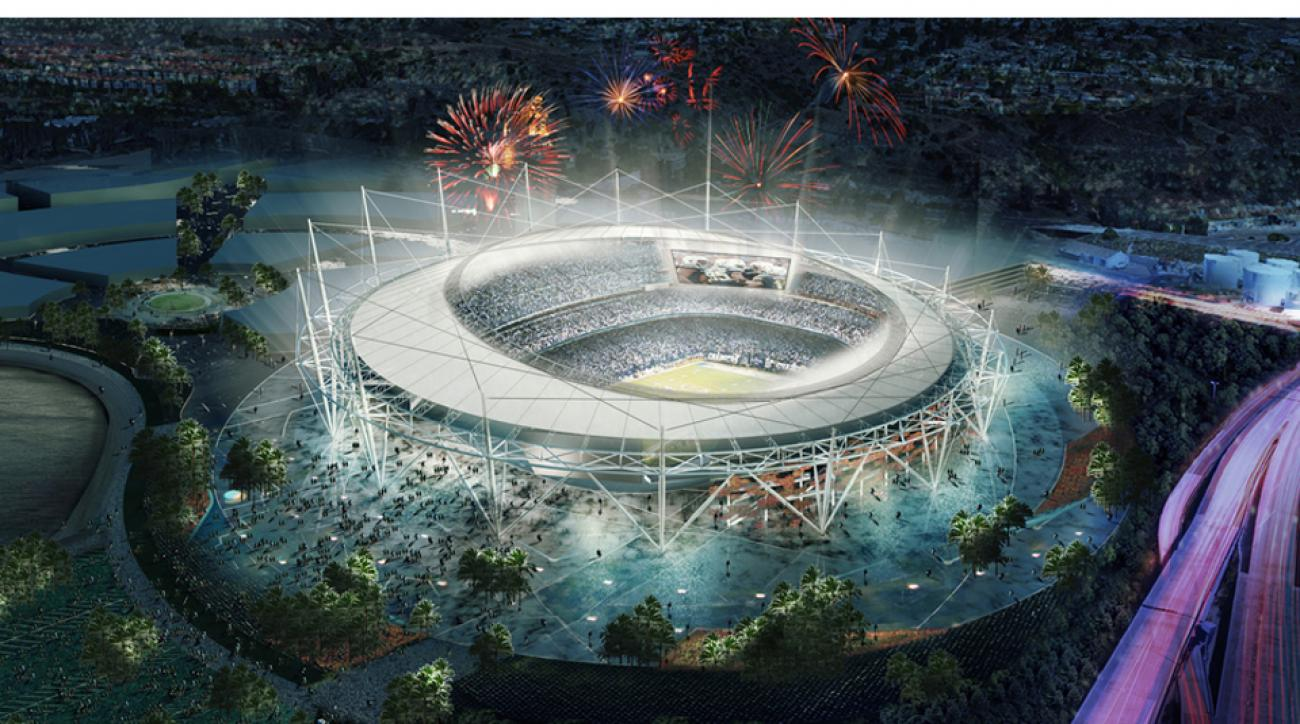 San Diego Chargers starting stadium negotiations
