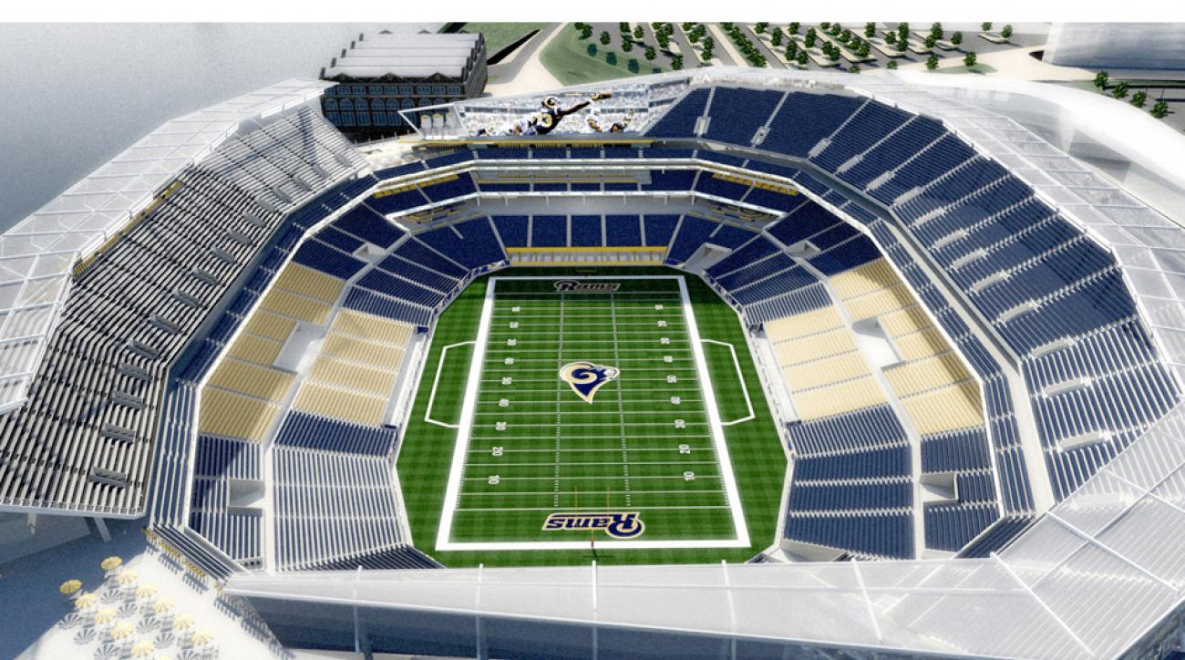 Missouri gov. sued over stadium money